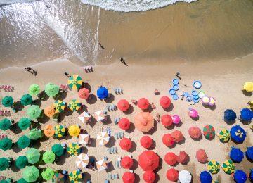 O que fazer com os acessórios de praia quando acaba o verão